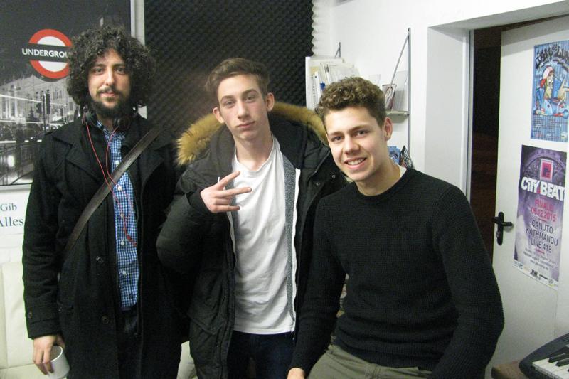 Rob, Vince und JBrown