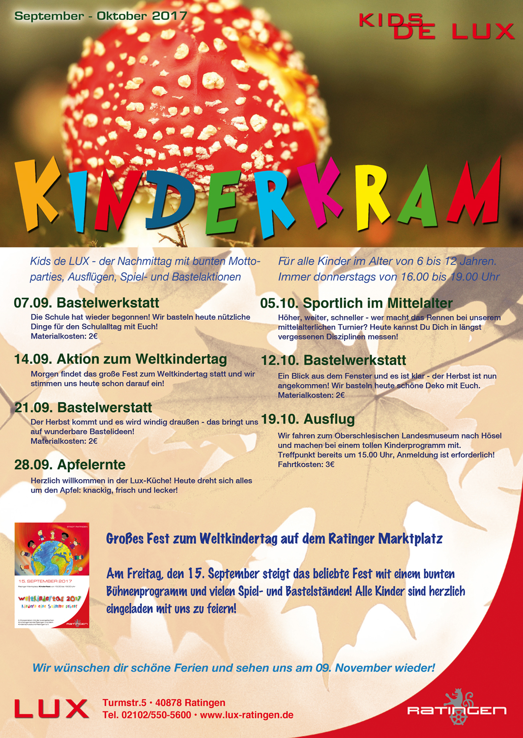 ratingen ratinger lux kinder flyer