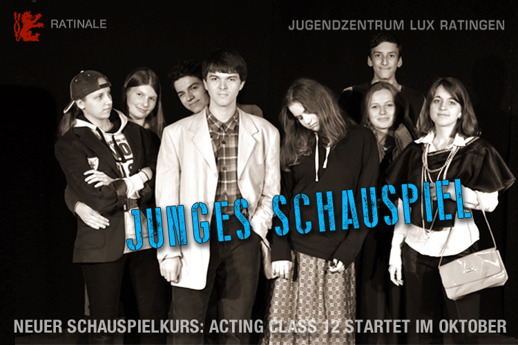 ratingen dumeklemmer ratinger lux jugendrat festival voices schauspiel